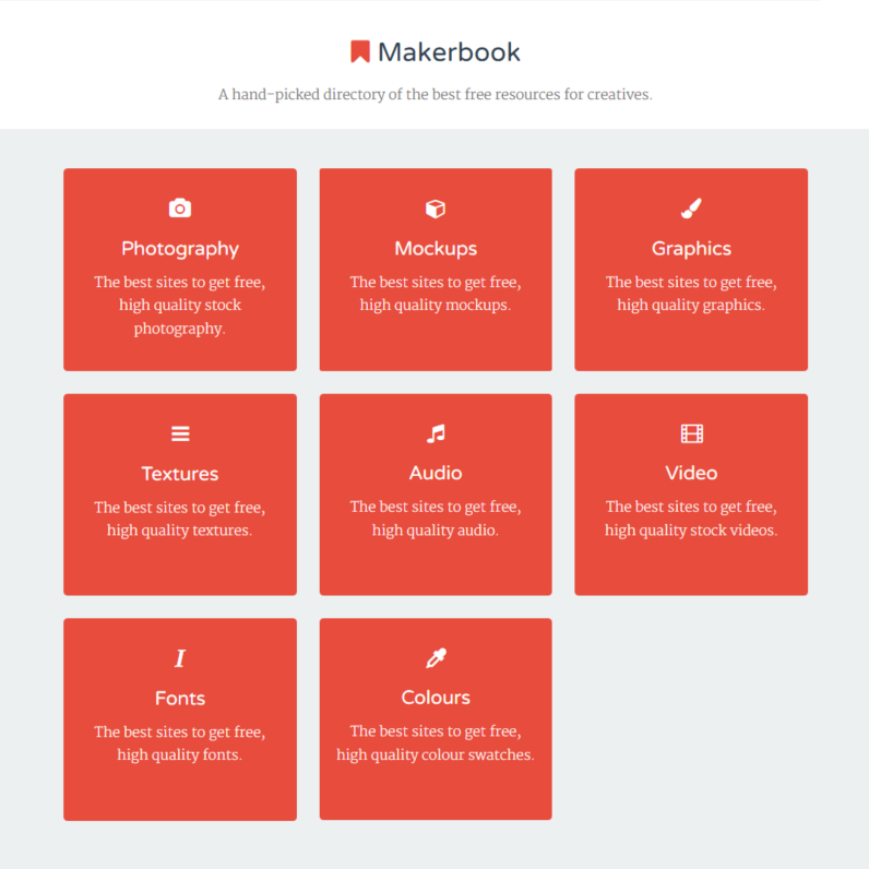 Webseite - Makerbook.net